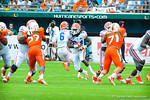 RB Matt Jones runs downfield.  Gators vs Miami.  9-07-13.