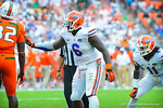 DL Dante Fowler Jr.  Gators vs Miami.  9-07-13.