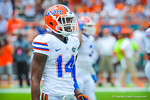 DB Jaylen Watkins.  Gators vs Miami.  9-07-13.