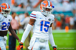 DB Loucheiz Purifoy.  Gators vs Miami.  9-07-13.