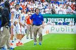 Coach WIll Muschamp.  Gators vs Miami.  9-07-13.