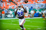 DB Marcus Maye.  Gators vs Miami.  9-07-13.