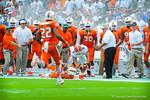 WR Trey Burton makes the catch.  Gators vs Miami.  9-07-13.