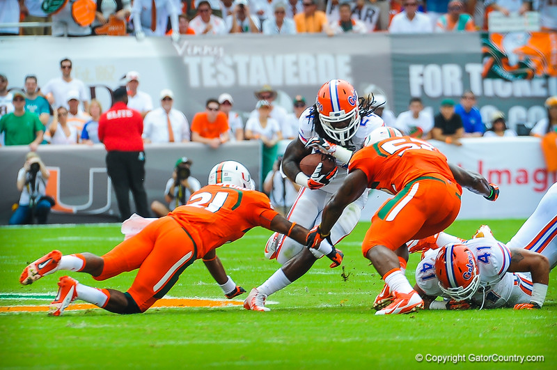 Gators vs Miami 9-7-13