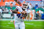 DB Keanu Neal.  Gators vs Miami.  9-07-13.