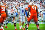 QB Jeff Driskel.  Gators vs Miami.  9-07-13.