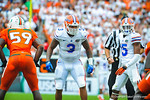 LB Antonio Morrison.  Gators vs Miami.  9-07-13.