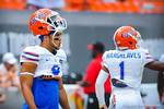 WR Trey Burton.  Gators vs Miami.  9-07-13.
