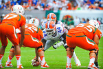 DL Leon Orr.  Gators vs Miami.  9-07-13.