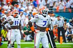 LB Ronald Powell.  Gators vs Miami.  9-07-13.