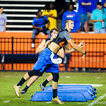 Florida QB commit Will Grier throws the ball during a drill at Friday Night Lights at Ben Hill Griffin Stadium on July 26, 2013.