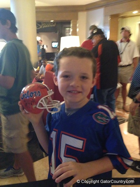 A Florida fan gives us his best Will Muschamp impression.