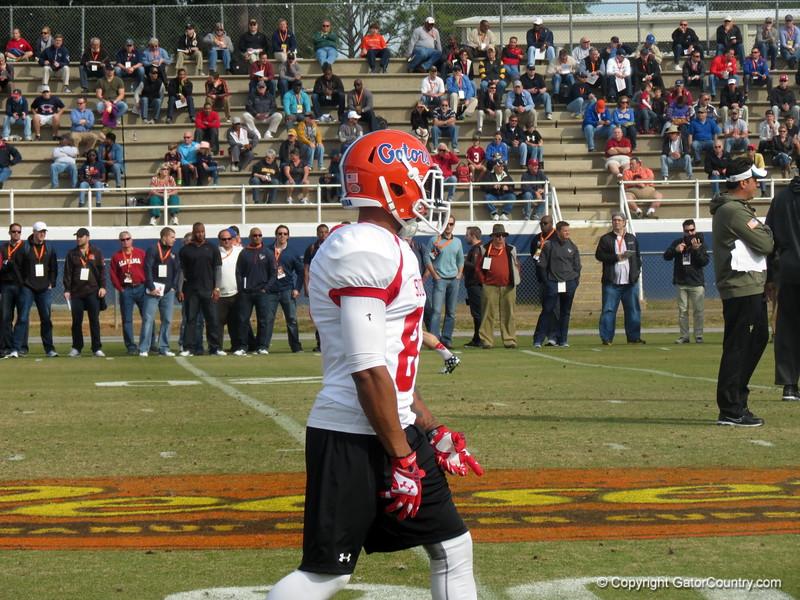 Solomon Patton at the Senior Bowl