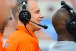 Florida coach DJ Durkin.  Florida Gators vs Georgia Bulldogs.  EverBank Field.  November 2, 2013.