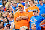 Florida fans look on in disbelief as the Bulldogs jump up to a 17-0 lead. Florida Gators vs Georgia Bulldogs.  EverBank Field.  November 2, 2013.