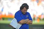 Florida Gator head coach Will Muschamp.  Florida Gators vs Georgia Southern Eagles.  November 23, 2013.  Gainesville, FL.