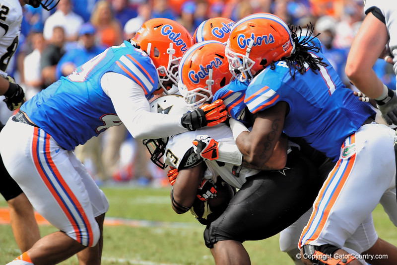 Florida Gators vs the Vanderbilt Commodores.  Homecoming Weekend.  November 9, 2013.