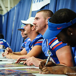 QB Max Starver.  Gator Fan Day.  Stephen C. O'Connell Center.  August 17th, 2013