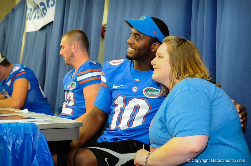 Gator Fan Day 8-17-13
