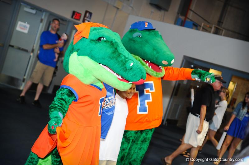 Gator Fan Day 8-17-13