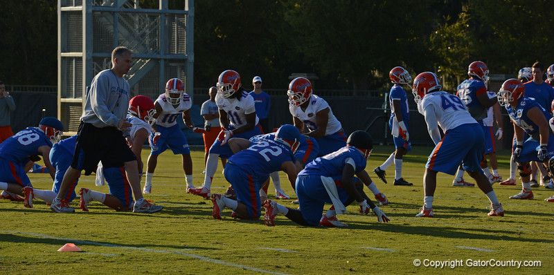 Special Teams - Punt Protection drill