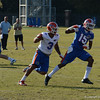Purifoy (15) gets seperation from Morrison (3)