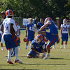 T Burton (8) holds for Field Goal try by Hardin (16)