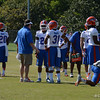 Muschamp coaching Cornerbacks Maye & Riggs