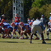 Special Teams drill for Punt protection