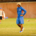 Chris Leak. Gator Practice 8-15-13.