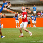 Florida Gator football players practice during the open practice on Saturday August 17th, 2013.
