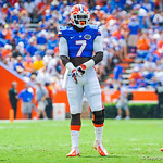 LB Ronald Powell.  Gators vs Toledo.  8-31-13.