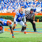 LB Darrin Kitchens.  Gators vs Toledo.  8-31-13.'