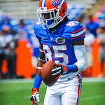WR Chris Thompson.  Gators vs Toledo.  8-31-13.