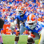 RB Mack Brown.  Gators vs Toledo.  8-31-13.