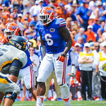 DL Donte Fowler Jr.  Gators vs Toledo.  8-31-13.