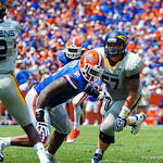 Dl Dominique Easley.  Gators vs Toledo.  8-31-13.