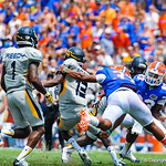 The gator defense.  Gators vs Toledo.  8-31-13.