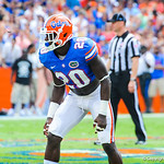 DB Marcus Maye.  Gators vs Toledo.  8-31-13.