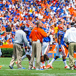 Coach Pease.  Gators vs Toledo.  8-31-13.'