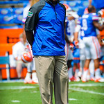 Coach Joker Phillips.  Gators vs Toledo.  8-31-13.