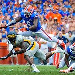 DL Dominique Easley makes an incredible leaping tackle.  Gators vs Toledo.  8-31-13.