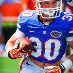 WR Michael McNeely.  Gators vs Toledo.  8-31-13.