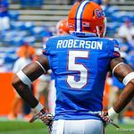 DB Marcus Roberson.  Gators vs Toledo.  8-31-13.