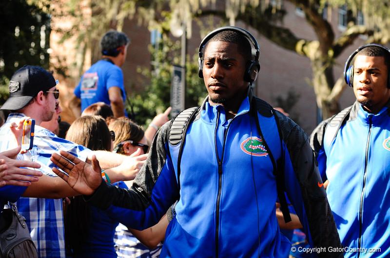 Gator Walk Arkansas Game 10-5-13