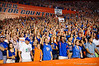 Florida Gators vs Arkansas Razorbacks.  Gainesville, FL.  October 5th, 2013.