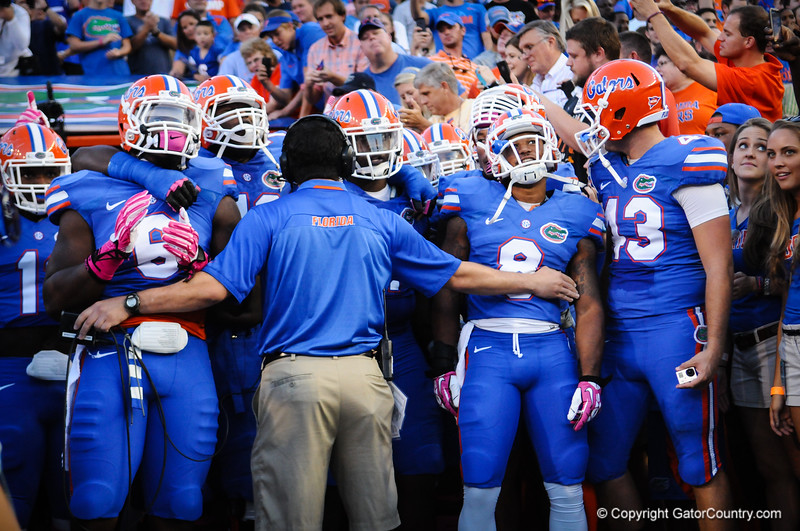 Florida Gators vs Arkansas Razorbacks.  Gainesville, FL.  October 5th, 2013.  Florida vs Arkansas; Gainesville, FL; Oct 5th, 2013.