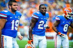DB Brian Poole.  Gators vs Tennessee Volunteers.  September 21, 2013.