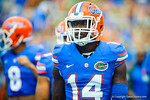 DB Jaylen Watkins.  Gators vs Tennessee Volunteers.  September 21, 2013.