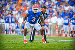 LB Antonio Morrison.  Gators vs Tennessee Volunteers.  September 21, 2013.